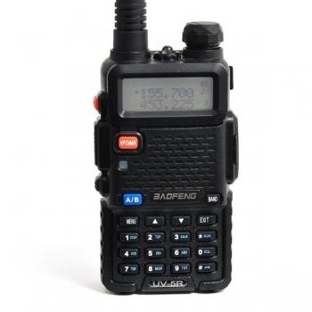 двухдиапазонная радиостанция baofeng uv-5r 8w black Baofeng
