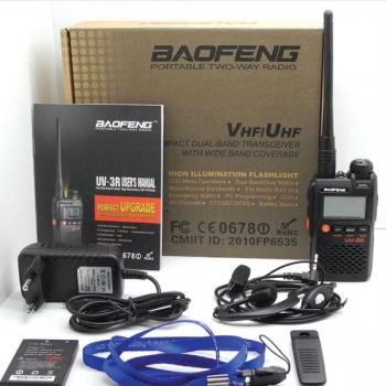 двухдиапазонная радиостанция baofeng uv-3r Baofeng