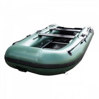 лодка hdx надувная, модель classic 330, с пайолом, цвет зелёный HDX