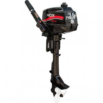 лодочный мотор 2-х тактный hdx t 3.6 сbms r-series HDX