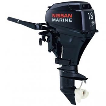 лодочный мотор 2-х тактный ns marine nm 18 e2 s NS Marine
