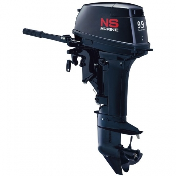 лодочный мотор 2-х тактный ns marine nm 9,9 d2 s NS Marine