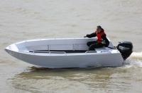 Алюминиевая моторная лодка TRIDENT 450