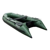 Лодка HDX надувная, модель CLASSIC 240 P/L, цвет зеленый