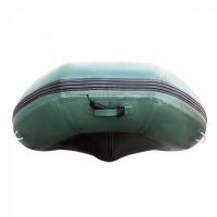 Лодка HDX надувная, модель CLASSIC 330, с пайолом, цвет зелёный