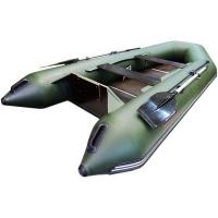 Лодка надувная Hunterboat, модель Хантер 320 Л, цвет зеленый