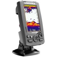 Эхолот Lowrance Hook-4x Mid/High/DownScan + Аккумулятор 7 А/ч + З/У 220В + Держатель