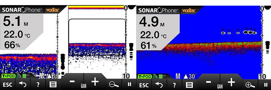 vexilar sonar phone sp100 2